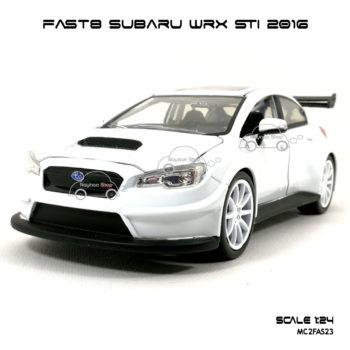 โมเดลรถ FAST8 SUBARU WRX STI 2016