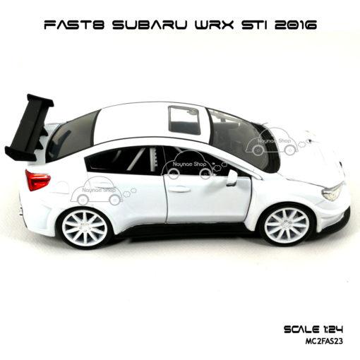 โมเดลรถ FAST8 SUBARU WRX STI 2016 (Scale 1:24) โมเดลประกอบสำเร็จ