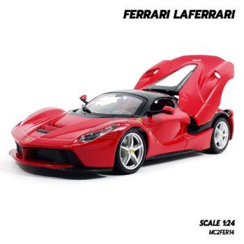 โมเดลรถ FERRARI LAFERRARI (1:24) โมเดลเฟอร์รารี่ เปิดฝากระโปรงท้ายรถได้