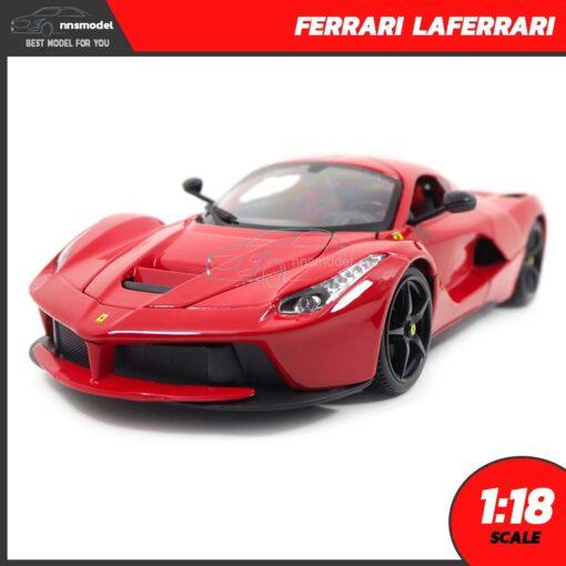 โมเดลรถ เฟอร์รารี่ LAFERRARI (Scale 1:18)