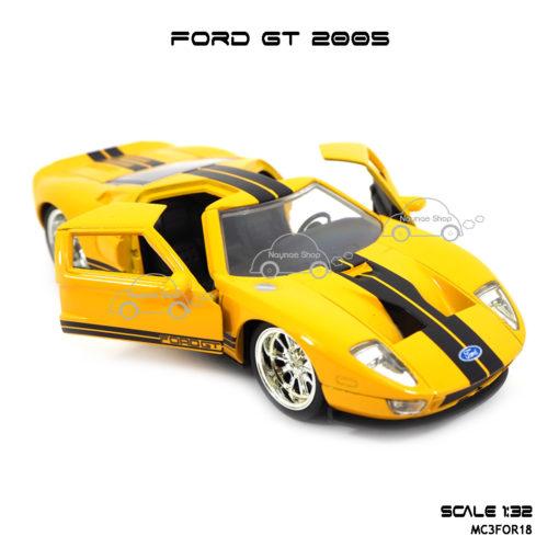 โมเดลรถ FORD GT 2005 เปิดประตูได้