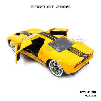 โมเดลรถ FORD GT 2005 เปิดประตูซ้ายขวา