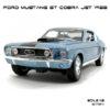 โมเดลรถ ฟอร์ด มัสแตง GT COBRA JET 1968 (1:18)