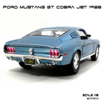 โมเดลรถ ฟอร์ด มัสแตง GT COBRA JET 1968 (1:18) รถคลาสสิค