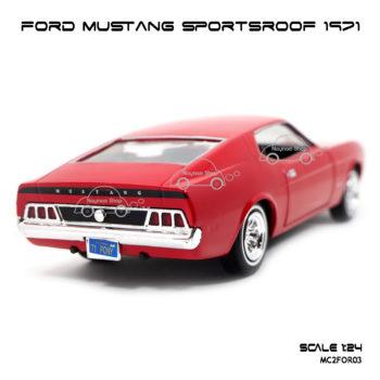 โมเดลรถ FORD MUSTANG SPORTSROOF 1971 ท้ายรถสวยๆ