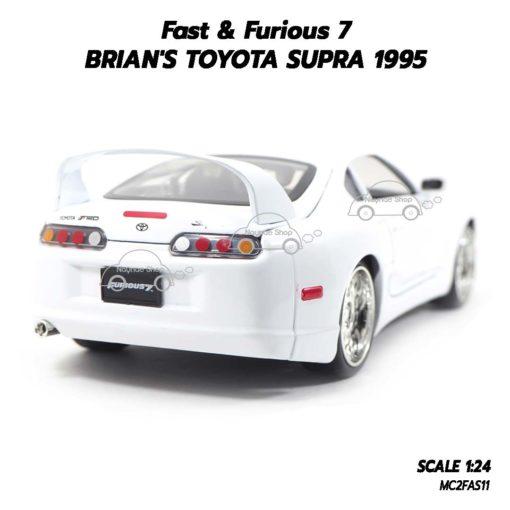 โมเดลรถ Fast7 Brian TOYOTA SUPRA 1995 (1:24) โตโยต้า supra