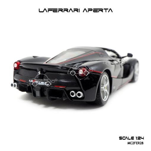 โมเดล Laferrari Aperta สีดำ ไฟท้ายสวยๆ