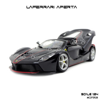 โมเดล Laferrari Aperta สีดำ รุ่นขายดี