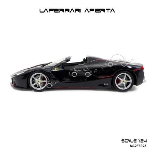 โมเดล Laferrari Aperta สีดำ Burago
