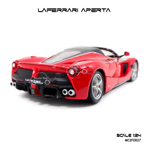 โมเดลรถ LAFERRARI APERTA สีแดงดำ ท้ายสวยๆ