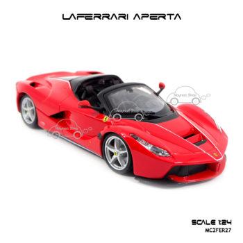 โมเดลรถ LAFERRARI APERTA สีแดงดำ รุ่นขายดี