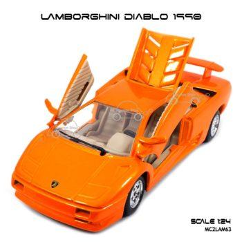 โมเดลรถ LAMBORGHINI DIABLO 1990 เปิดได้ครบ