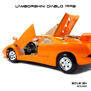 โมเดลรถ LAMBORGHINI DIABLO 1990 เปิดประตูปีกนก