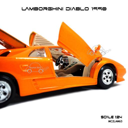โมเดลรถ LAMBORGHINI DIABLO 1990 ภายในเหมือนจริง