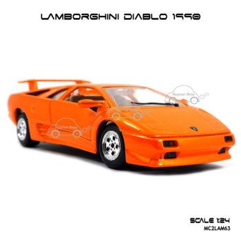 โมเดลรถ LAMBORGHINI DIABLO 1990 โมเดลสำเร็จ