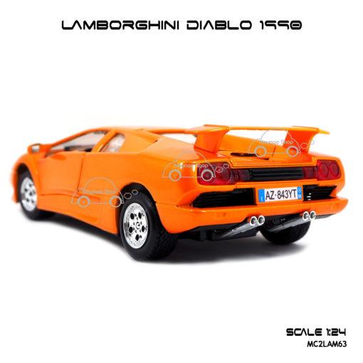 โมเดลรถ LAMBORGHINI DIABLO 1990 โมเดลประกอบสำเร็จ