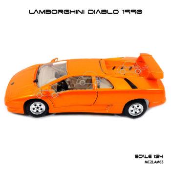 โมเดลรถ LAMBORGHINI DIABLO 1990 โมเดลลิขสิทธิแท้