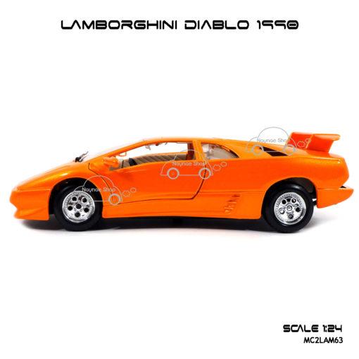 โมเดลรถ LAMBORGHINI DIABLO 1990 จำลองเหมือนจริง
