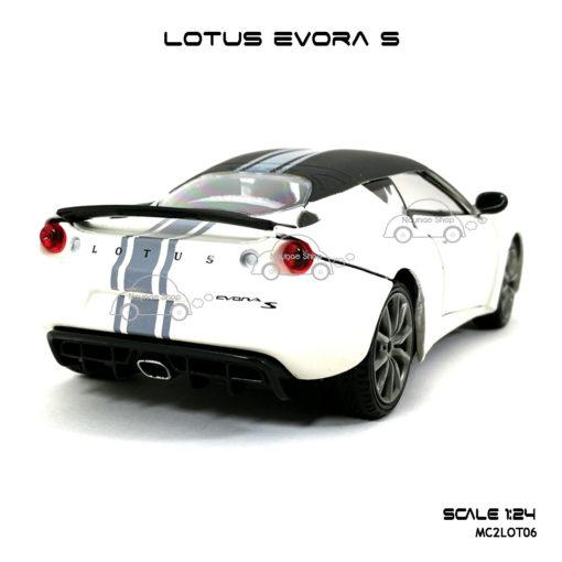 โมเดลรถ LOTUS EVORA S รูปท้ายรถ