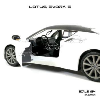 โมเดลรถ LOTUS EVORA S รูปภายในรถ