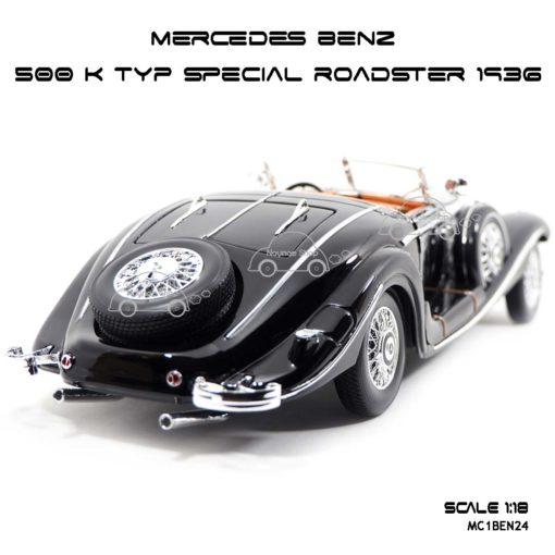 โมเดลรถ MERCEDES BENZ 500 K TYP SPECIAL ROADSTER 1936 (1:18) โมเดลสวยมาก