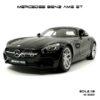 โมเดลรถ MERCEDES BENZ AMG GT สีดำ (Scale 1:18)