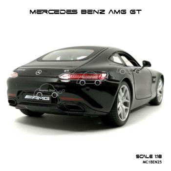 โมเดลรถ MERCEDES BENZ AMG GT สีดำ (Scale 1:18) ท้ายสวยๆ