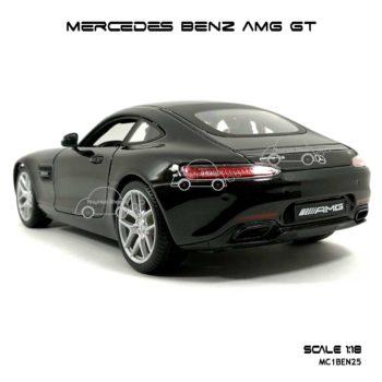 โมเดลรถ MERCEDES BENZ AMG GT สีดำ (Scale 1:18) โมเดลสำเร็จ