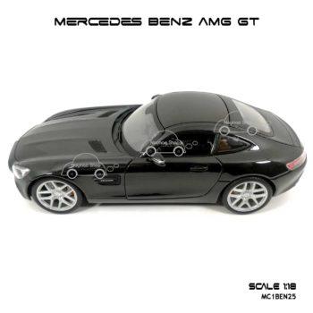 โมเดลรถ MERCEDES BENZ AMG GT สีดำ (Scale 1:18) พร้อมฐานวางตั้งโชว์