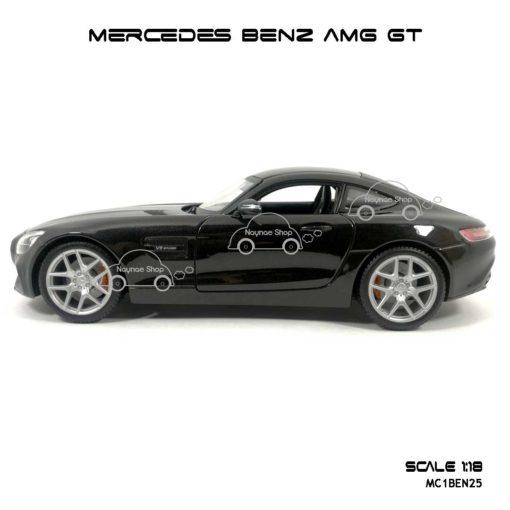 โมเดลรถ MERCEDES BENZ AMG GT สีดำ (Scale 1:18) โมเดลลิขสิทธิแท้