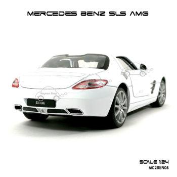 โมเดลรถ MERCEDES BENZ SLS AMG มุมท้าย