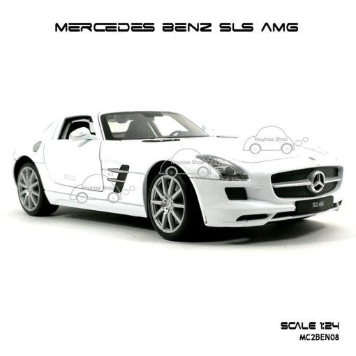 โมเดลรถ MERCEDES BENZ SLS AMG หน้าสวยๆ
