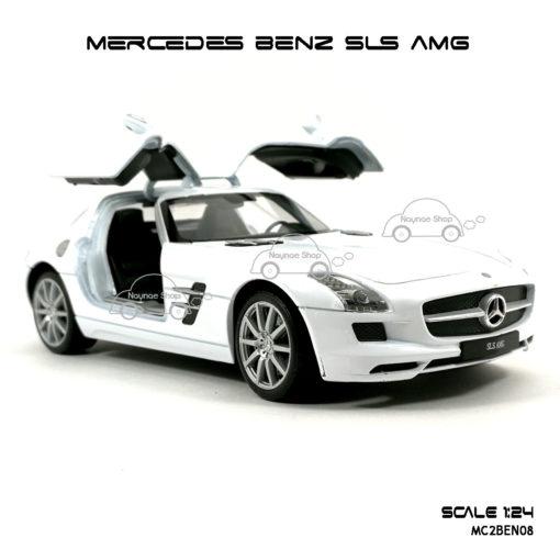 โมเดลรถ MERCEDES BENZ SLS AMG ประตูปีกนก