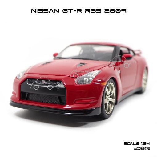 โมเดลรถ NISSAN GT-R R35 2009 สีแดง