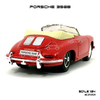 โมเดลรถ PORSCHE 356B สีแดง สวยๆ
