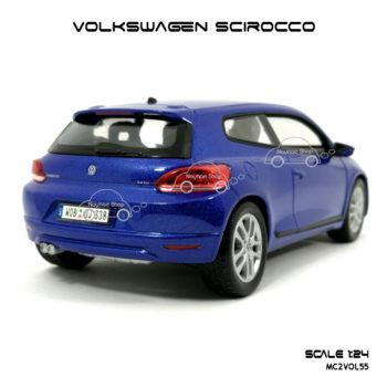 โมเดลรถ VOLKSWAGEN SCIROCCO ท้ายรถสวยๆ
