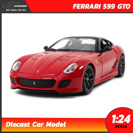 โมเดลเฟอร์รารี่ FERRARI 599 GTO (Scale 1:24)