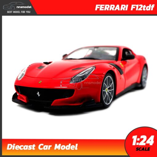 โมเดลรถ เฟอร์รารี่ FERRARI F12tdf (Scale 1:24)