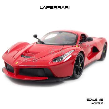 โมเดลเฟอร์รารี่ LAFERRARI สีแดง (Scale 1:18)