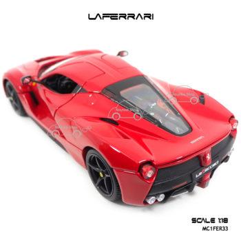 โมเดลเฟอร์รารี่ LAFERRARI สีแดง (Scale 1:18) โมเดลประกอบสำเร็จ