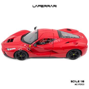 โมเดลเฟอร์รารี่ LAFERRARI สีแดง (Scale 1:18) รุ่นขายดี
