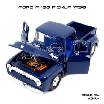 โมเดล รถกระบะ FORD F-100 PICKUP 1956 เปิดประตูซ้ายขวาได้
