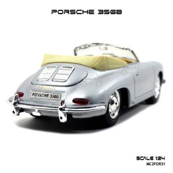 โมเดล รถคลาสสิค PORSCHE 356B สีบรอนด์เงิน