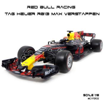 โมเดล F1 Red Bull Racing TAG Heuer RB13 Max Verstappen