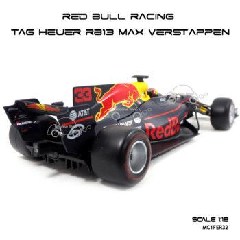 โมเดล F1 Red Bull Racing Max Verstappen โมเดลของแท้