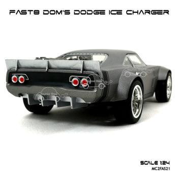 โมเดล FAST8 DOM DODGE ICE CHARGER ท้ายรถเท่ห์ๆ