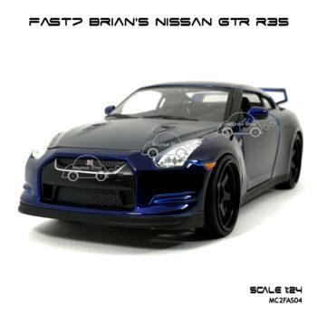 โมเดล fast7 BRIAN NISSAN GTR R35