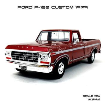 Model Pickup FORD F-150 CUSTOM 1979 RedBrown