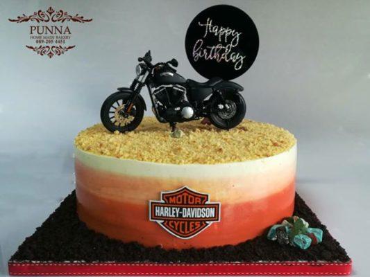harley davidson iron 883 cake 01