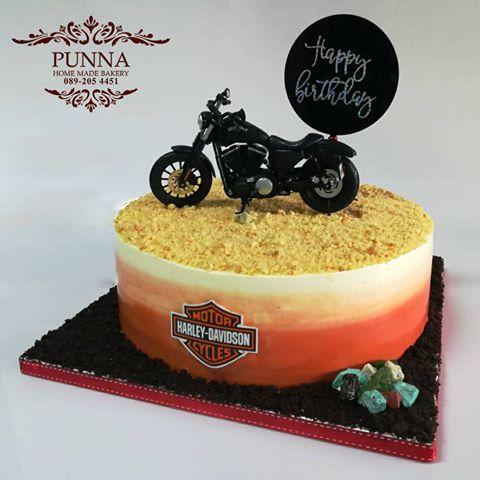 harley davidson iron 883 cake 02